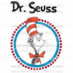 Dr Seuss #201 Sublimation transfers Heat Transfer