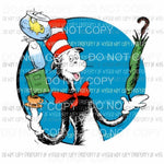Dr Seuss # 209 Sublimation transfers Heat Transfer