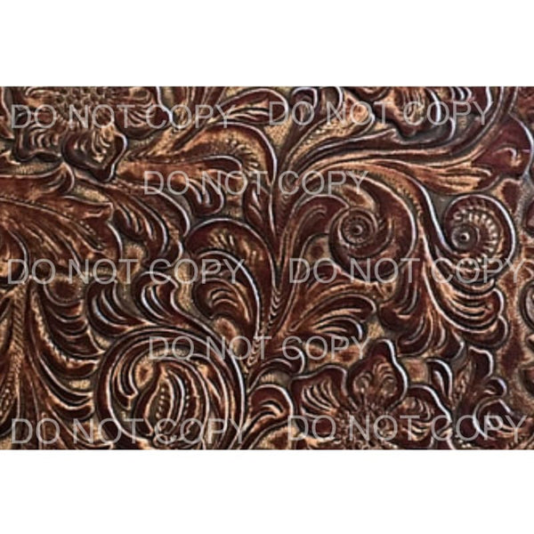 Embossed Leather Background Sheet #2 Sublimation transfers -