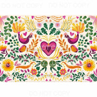 Flower Sheet #34 Sublimation transfers 13 x 9 inches Heat Transfer