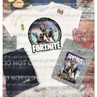 Fortnite #3 which one Sublimation transfers Heat Transfer