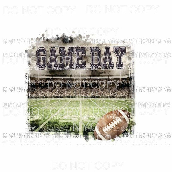 Game Day football field Sublimation transfers Heat Transfer