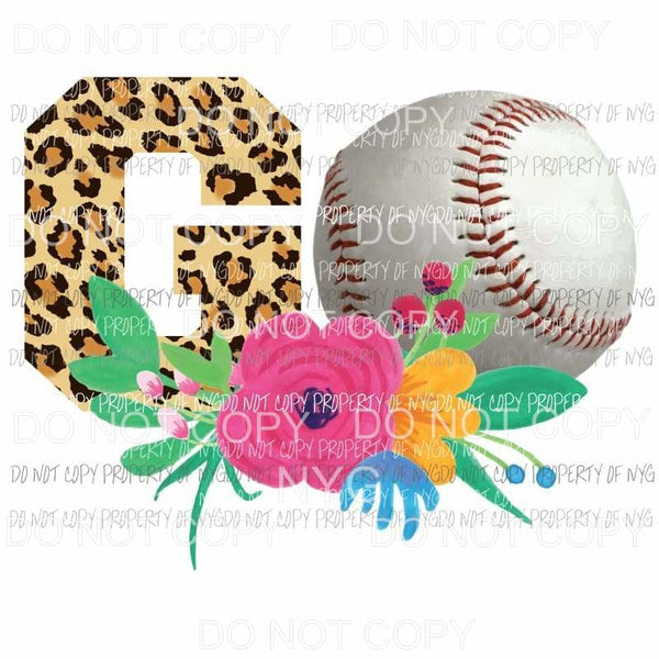 Go Baseball Sublimation transfers Heat Transfer