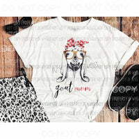 Goat mom Sublimation transfers Heat Transfer