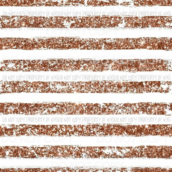 Grunge Stripe Copper Sheet Sublimation transfers 13 x 9 inches Heat Transfer