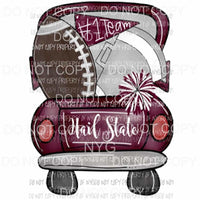 Hail state truck Sublimation transfers Heat Transfer