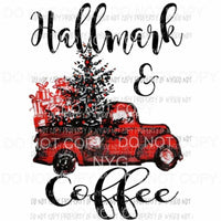 Hallmark and coffee Sublimation transfers Heat Transfer