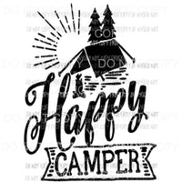 Happy camper 6 Sublimation transfers Heat Transfer