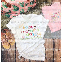 Happy Mothers day sublimation transfer Heat Transfer