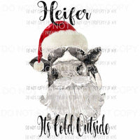 Heifer its cold outside cow Sublimation transfers Heat Transfer