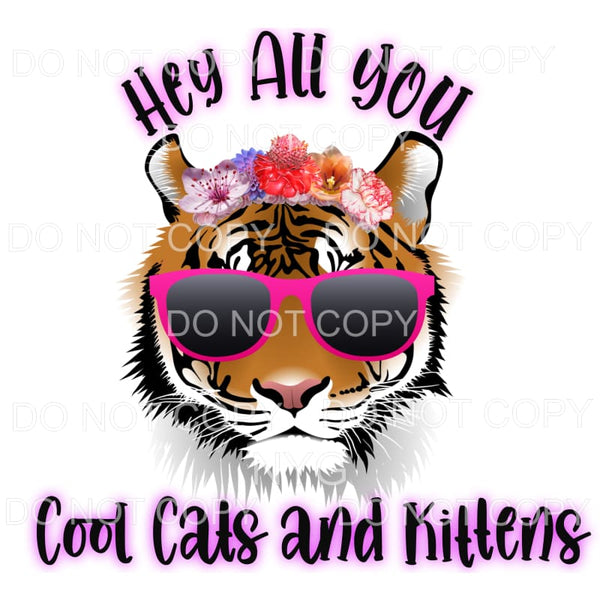 Hey All You Cool Cats And Kittens Tiger King Carole Baskin