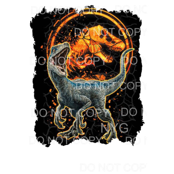 Jurassic Park Sublimation transfers - Heat Transfer