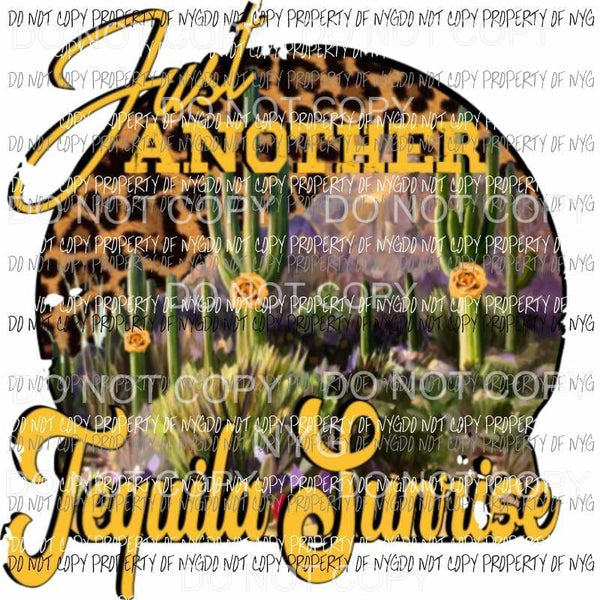 Just another Tequila Sunrise Sublimation transfers Heat Transfer