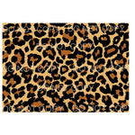 Leopard Sheet # 1 Sublimation transfers - 13 x 9 inches -