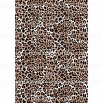 Leopard Sheet #14 Sublimation transfers 13 x 9 inches Heat Transfer