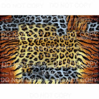 Leopard Sheet #22 Sublimation transfers 13 x 9 inches Heat Transfer