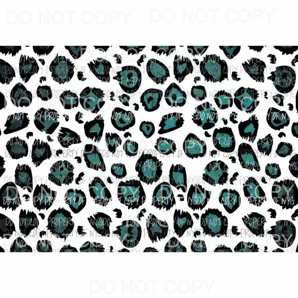 Leopard Sheet #24 Sublimation transfers 13 x 9 inches Heat Transfer