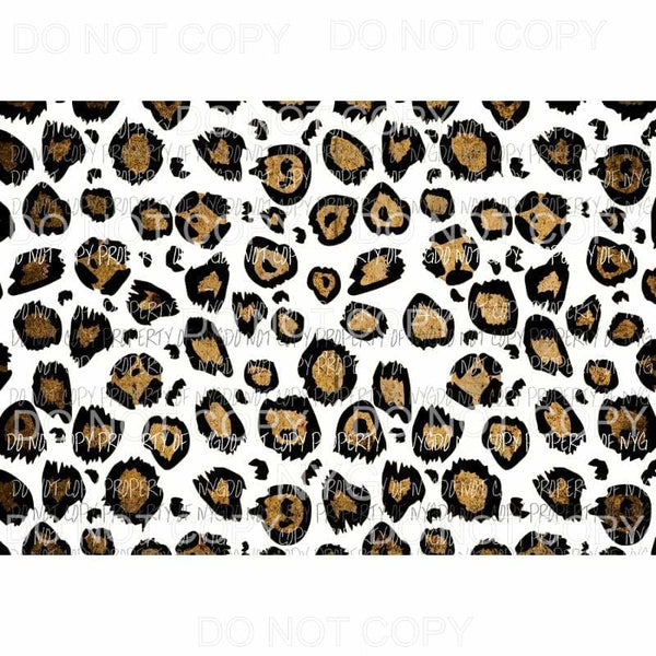 Leopard Sheet #27 Sublimation transfers 13 x 9 inches Heat Transfer