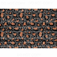 Leopard Sheet #41 Sublimation transfers 13 x 9 inches Heat Transfer