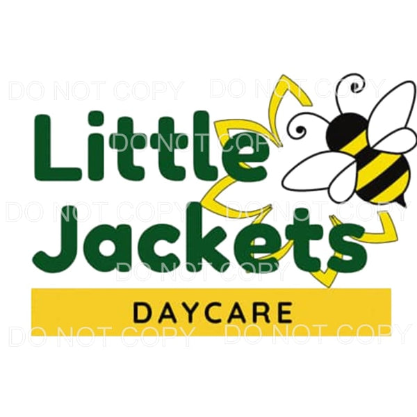 Little Jackets Daycare custom Sublimation transfers - Heat
