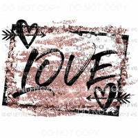 Love #302 Sublimation transfers valentines day heart Heat Transfer