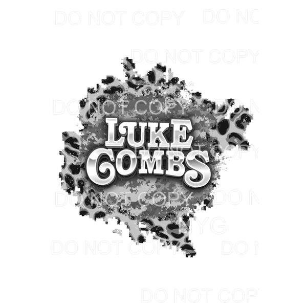 Luke Combs # 20 Sublimation transfers - Heat Transfer