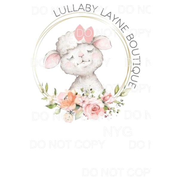 Lullaby custom Sublimation transfers - Heat Transfer