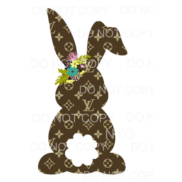 LV Bunny # 14 Sublimation transfers - Heat Transfer