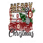 Merry Christmas truck Oklahoma sooners truck Sublimation