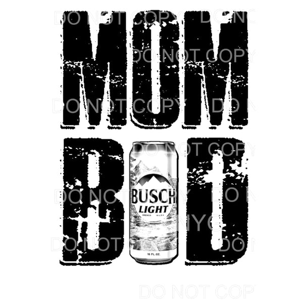 MOM Bod Beer #11 Sublimation transfers - Heat Transfer