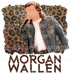 Morgan Wallen Leopard # 2 Sublimation transfers - Heat