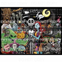 Nightmare Before Christmas # 11 Sublimation transfers Heat Transfer