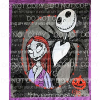 Nightmare Before Christmas # 16 Sublimation transfers Heat Transfer