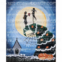 Nightmare Before Christmas # 19 Sublimation transfers Heat Transfer