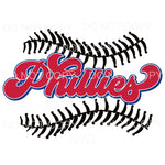 Phillies Baseball Philadelphia Sublimation transfers - Heat