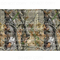 Realtree Camo Sheet #1 Sublimation transfers 13 x 9 inches Heat Transfer