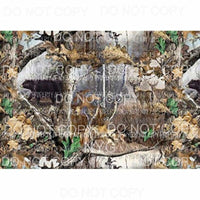 Realtree Camo Sheet #3 Sublimation transfers 13 x 9 inches Heat Transfer