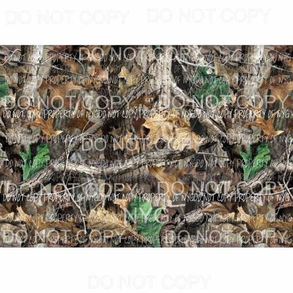 Realtree Camo Sheet #6 Sublimation transfers 13 x 9 inches Heat Transfer