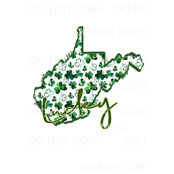 Saint Patrick's Day Clover color States All states in drop