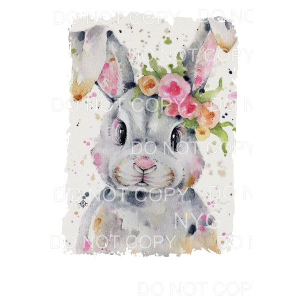 Speckled Bunny Sublimation transfers - Heat Transfer