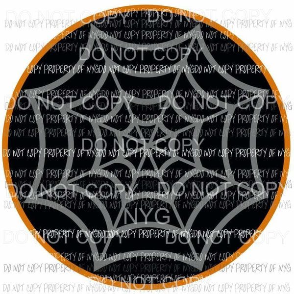Spider Web hand drawn Sublimation transfers Heat Transfer