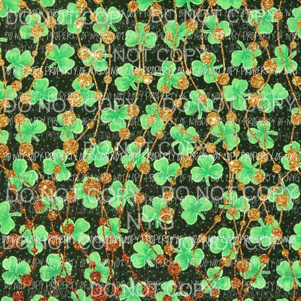 St Patricks Day Background Sheet #1 Sublimation transfers 13 x 9 inches Heat Transfer