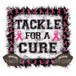Tackle For A Cure Football Breast Cancer Sublimation