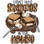 There's Some S'mores in this House Sublimation transfers -