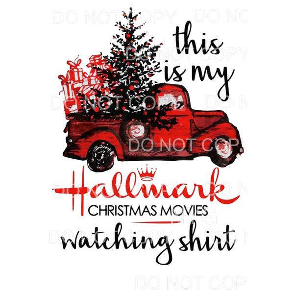 This is my hallmark shirt TRUCK # 30 Sublimation transfers -
