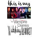 this is my Vampire diaries watching blanket 3 Sublimation