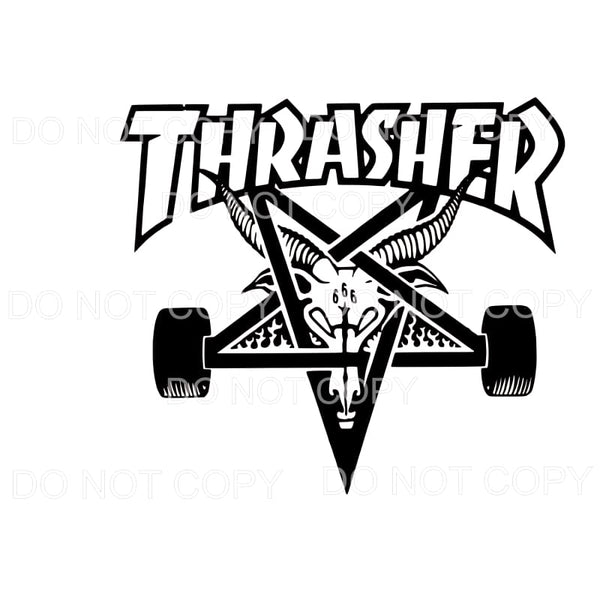 Thrasher Custom Sublimation transfers - Heat Transfer