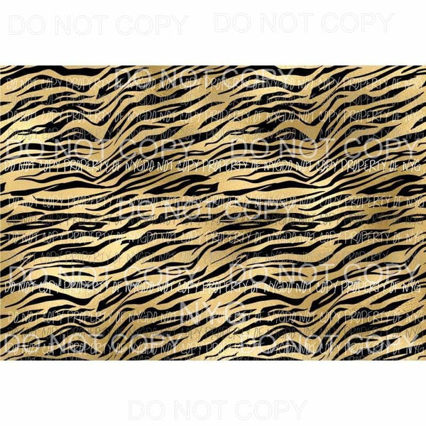 Tiger Sheet #15 Sublimation transfers 13 x 9 inches Heat Transfer