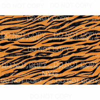 Tiger Sheet #16 Sublimation transfers 13 x 9 inches Heat Transfer