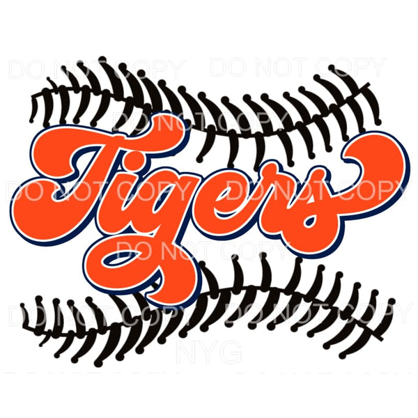 Tigers Baseball Detroit Sublimation transfers - Heat